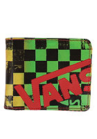 VANS Scan Check Wallet rasta fade