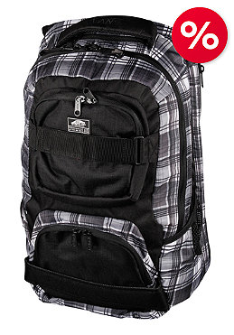 VANS Shroud Skatepack Backpack black/white/grey plaid