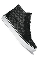 VANS Sk8 Hi black/pewter checkerboard