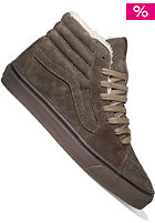 VANS Sk8 Hi Fleece tobacco/dark gum