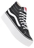 VANS Sk8-Hi Platform canvas black/true white