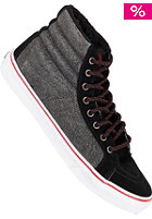 VANS Sk8-Hi Slim cracked black