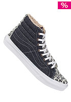 VANS Sk8-Hi Slim Shoes (denim and sued