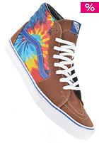 VANS Sk8-Hi tie dye brown