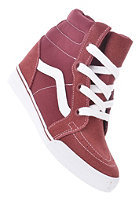 VANS Sk8 Hi Wedge tawny port/true