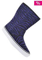 Slip On Boot suede zebra/b