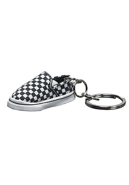VANS Slip On Keychain black/white