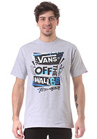 VANS Stenciled II S/S T-Shirt athletic heather