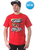 VANS Stenciled II S/S T-Shirt red