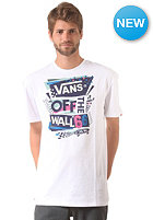 VANS Stenciled II S/S T-Shirt white/blue