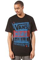 VANS Stenciled S/S T-Shirt black/blue