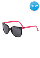 Womens 80's Sunglasses black/neon pink