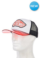 VANS Womens Attendance Trucker Cap transparent hot coral