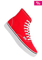 VANS Womens Authentic Hi Shoes true red