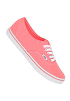 VANS Womens Authentic Lo Pro neon coral
