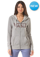 VANS Womens Authentic Logo Hooded Sweat grey heather