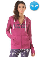 VANS Womens Authentic Logo Hooded Sweat magenta haze he