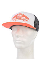 VANS Womens Beach Girl Trucker Cap neon coral
