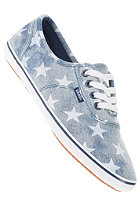 VANS Womens Cedar denim stars white