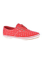 VANS Womens Cedar polka dot true red/white