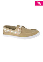 VANS Womens Chauffette (stripes) khaki/white