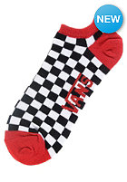 VANS Womens Check It Twice No Show Socks bright white