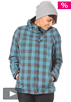 VANS Womens Checkerboard Jacket 2012 checkerboard plaid/castlerock