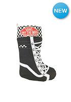 VANS Womens Checkered Stocking Socks black/white
