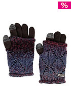 VANS Womens Clouded Gloves red violet