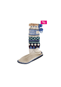 VANS Womens Endeavor Slippers pelican