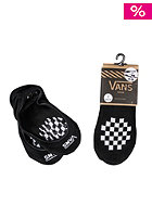 VANS Womens Girly Pad 2 Pack Socks black/white