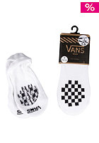VANS Womens Girly Pad 2 Pack Socks white/black