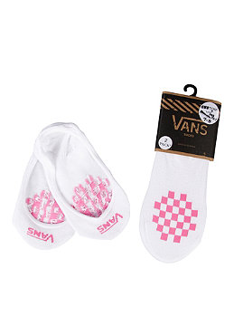 VANS Womens Girly Pad 2 Pack Socks white/wild orchid