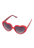 VANS Womens Heart Sunglasses scarlet