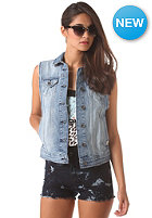 VANS Womens Jaymee Denim Vest washed out