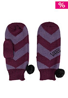 VANS Womens Kookie Gloves italian plum
