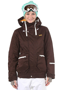 VANS Womens Kuara Jacket 2012 deep brown