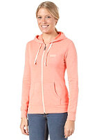 VANS Womens Link Hooded Zip Sweat fusion coral he