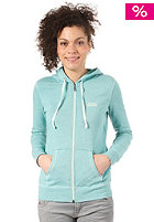 VANS Womens Link Hooded Zip Sweat sea green heath