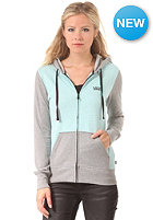 VANS Womens Link Zip-Up Hooded Zip Sweat heather aqua ha