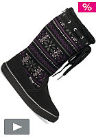 VANS Womens Marley black/purple