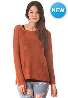 VANS Womens Maynard Knit Sweat orange/mocha bi