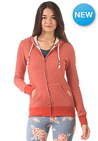 VANS Womens Mick Hooded Zip Sweat ketchup