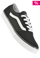 Womens Milton (suede canvas) black/white