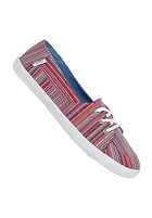 VANS Womens Palisades Vulc stripes red/b