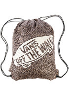 VANS Womens Printed Benched Backpack leopard herringbone