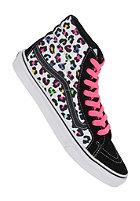 VANS Womens Sk8 Hi neon leopard