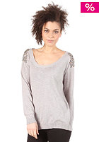 VILA Abadi Knit Top light grey melange