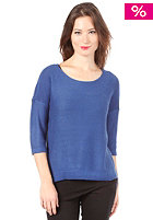 VILA Cata Knit Top surf blue