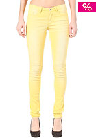 VILA Cleavo Low 5 Pocket Solid Pant super lemon